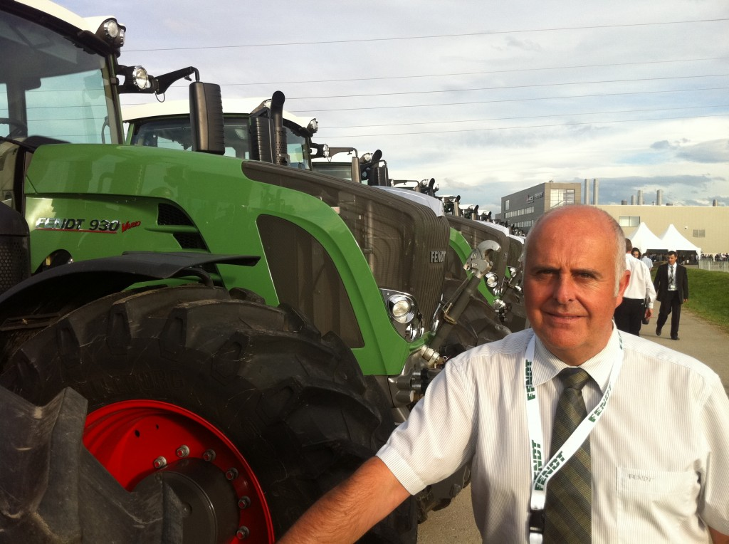 Chandlers Fendt tractors sales product specialist Paul Kettle