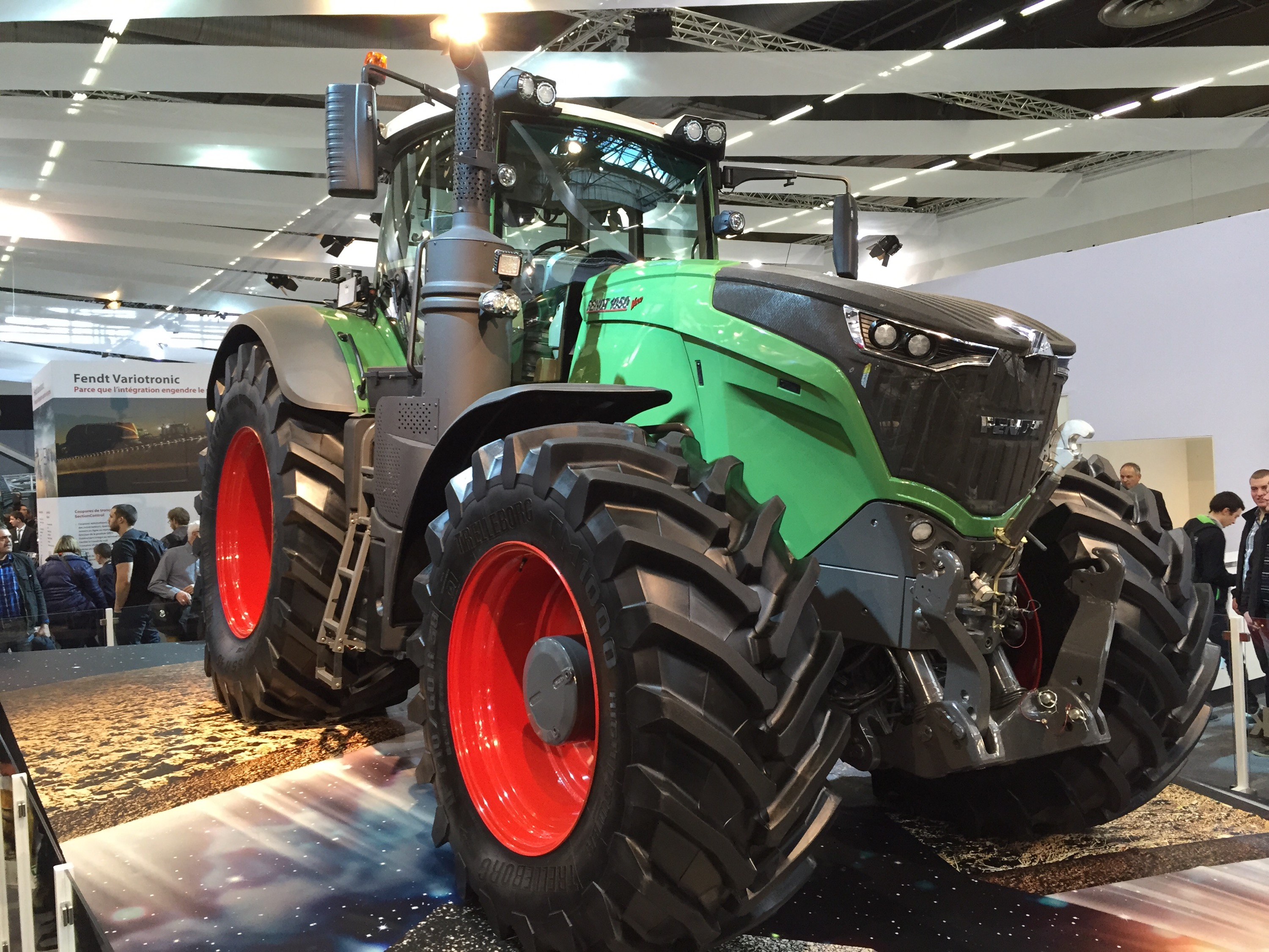 Fendt 1050 tractor at SIMA Show