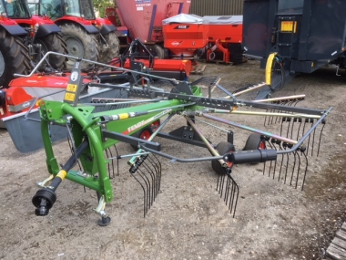 Fendt - FORMER 456 DN Rake - 4.5m Single Rotor Rake - Brand New