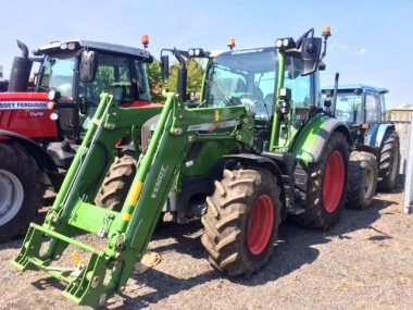 Fendt - 312 & CARGO 4X/75 COMPACT LOADER