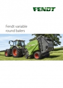 Fendt Round Balers - Variable Chamber - Brochure