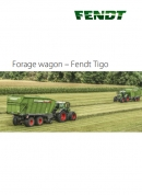 Fendt Tigo Forage Wagon Brochure