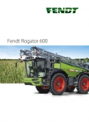 Fendt Rogator RG600 Self Propelled Sprayer Brochure