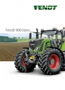 Fendt 900 Series Tractors Brochure