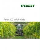 Fendt 200 VFP Brochure