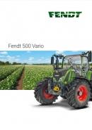 Fendt 500 Brochure