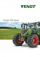 Fendt 700 Brochure