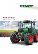 Fendt 300 Vario Tractor Brochure