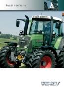 Fendt 400 Vario TMS Tractor Brochure