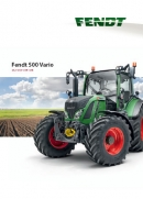 Fendt 500 Vario SCR Brochure