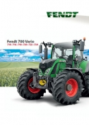 Fendt 700 Vario SCR Tractor Brochure
