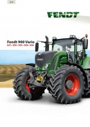 Fendt 900 S4 Series Tractor Brochure