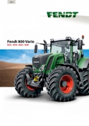 Fendt 800 S4 Series Tractor Brochure