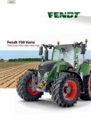 Fendt 700 S4 Series Tractor Brochure