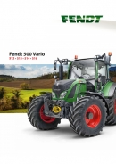 Fendt 500 S4 Series Tractor Brochure