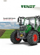 Fendt 300 S4 Series Tractor Brochure