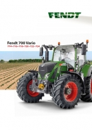 Fendt 700 series brochure