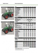 Fendt 700 series technical specification