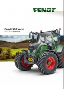 Fendt 500 series brochure