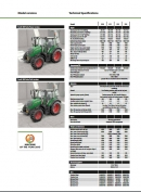 Fendt 300 series technical specification
