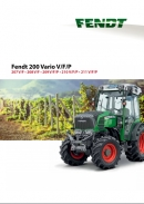 Fendt 200 series vineyard brochure