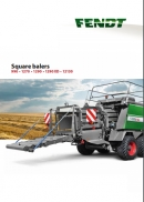 Fendt Square Balers brochure