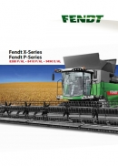 Fendt X & P series combine brochure