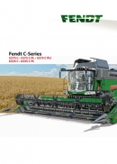 Fendt C series combine brochure