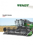 Fendt E series combine brochure