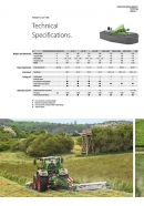 Fendt 'Cutter' Range of Drum Mowers Specification Brochure