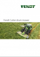 Fendt 'Cutter' range of Drum Mowers Brochure