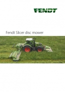 Fendt 'Slicer' Disc Mowers Brochure