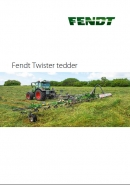 Fendt 'Twister' range of Tedders Brochure