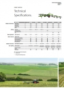 Fendt 'Twister' range of tedders specification brochure