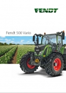 Fendt 500 Series Tractor Brochure