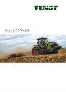 Fendt MT1100 Series Tracked Tractor Brochure
