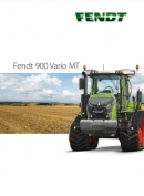 Fendt MT900 Vario Tracked Tractor Brochure