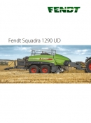 Fendt Squadra 1290 UD - Ultra Density Big Square Baler Brochure