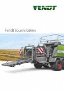 Fendt Big Square Balers Brochure