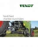 Fendt Round Balers - Fixed Chamber - Brochure